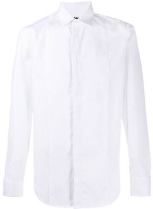 Emporio Armani Long Sleeve Concealed Button Shirt
