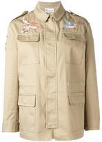 RED Valentino bird embroidery jacket - women - Cotton/Polyester/Viscose - 42