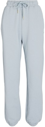 WeWoreWhat High-Rise Cotton Terry Sweatpants