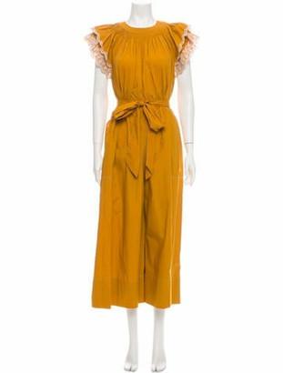 Ulla Johnson Crew Neck Long Dress