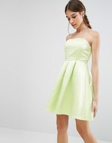Glamorous Bandeau Prom Dress