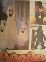 Mccall's McCalls Crafts Pattern 3313 Halloween Decorations