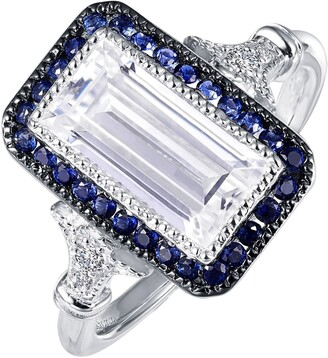 Lafonn Art Deco Simulated Diamond Ring