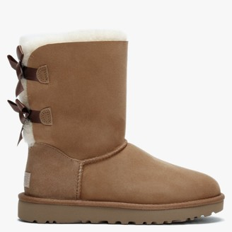 UGG Bailey Bow II Chestnut Twinface Boots