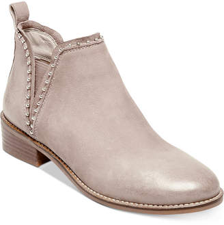 Steve Madden Women Koto Studded Ankle Leather Booties