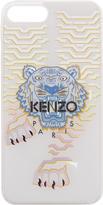 Kenzo White Geo Tiger Iphone 7 Plus Case