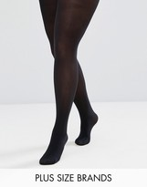Pretty Polly Plus 60 Denier Plush Opaque Tights