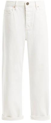 Raey Dad Baggy Boyfriend Jeans - Womens - White