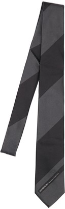 Givenchy 6.5cm Logo Striped Silk Tie