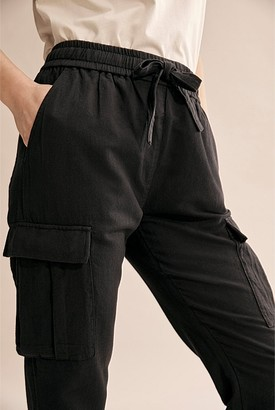 Country Road Linen Cargo Pant