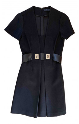 Proenza Schouler Black Wool Dresses