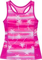 Gymboree Bright Flamingo Palm Tree Racerback Active Tank - Girls