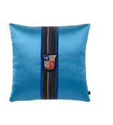 Tommy Hilfiger Final Sale-Velvet Stripe Decorative Pillow - Blue