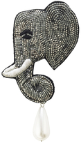 Forest of Chintz Elephant Brooch