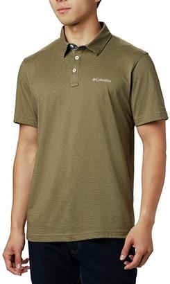 Columbia Thistletown Ridgetm Polo (Collegiate Navy) Men's Short Sleeve Knit