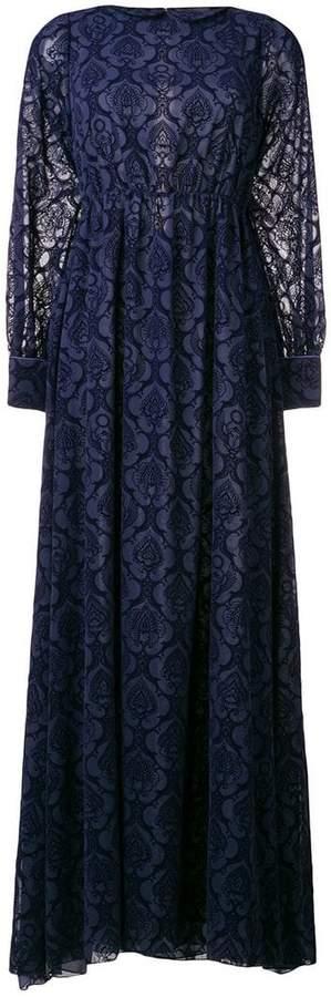 Frankie Morello lace long dress