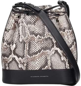 Giuseppe Zanotti Selly Shoulder Bag In Animalier Leather