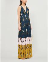 Ted Baker Kaylare Savannah-print maxi dress