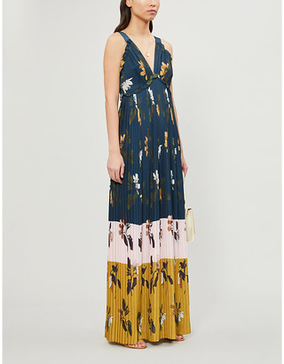 Ted Baker Kaylare Savannah-print maxi dress