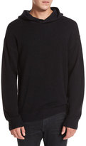 Vince Wool-Cashmere Pullover Hoodie