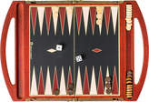 The Conran Shop Travel backgammon set, Brown