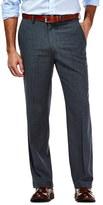 Haggar Men's Travel Tailored-Fit Graphite Performance Suit Pants