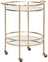 One Kings Lane Larisa Bar Cart - Gold