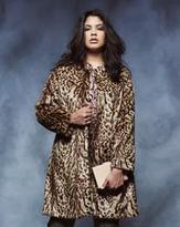 Anna Scholz As Leopard Coat