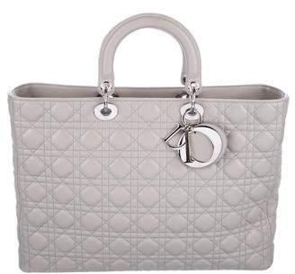 Christian Dior XL Lady Bag