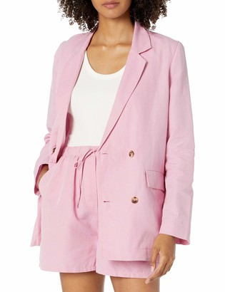 The Drop Women's Irene Loose-Fit Double Breasted Blazer