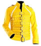 Spazeup Freddie Mercury Wembley Faux Leather Jacket Costume