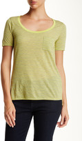 Three Dots Side Vent Pocket Tee