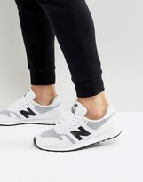 New Balance 373 Trainers In White Md373wg