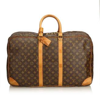 Louis Vuitton Brown Cloth Travel bags