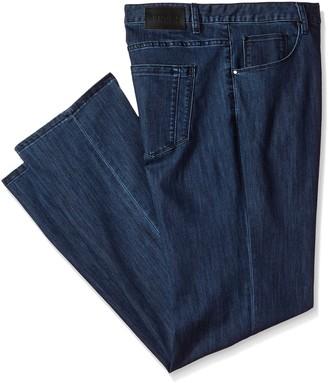Perry Ellis Men's Big and Tall Big & Tall Coolmax 5 Pocket Denim Pant