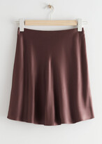Thumbnail for your product : And other stories Satin Mini Skirt