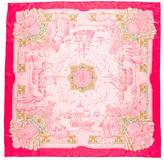 Hermes Azulejos Silk Scarf