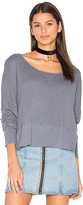 LAmade Lori Long Sleeve Tee in Blue