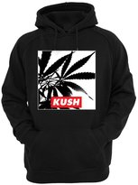 YM Wear Men's Weed Kush Marijuana Pot Smokers Weed Hoodie Hooded Sweater