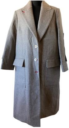 Zadig & Voltaire Beige Wool Coat for Women
