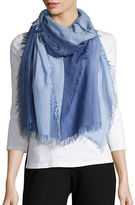 Eileen Fisher Ombre Wool Blend Scarf