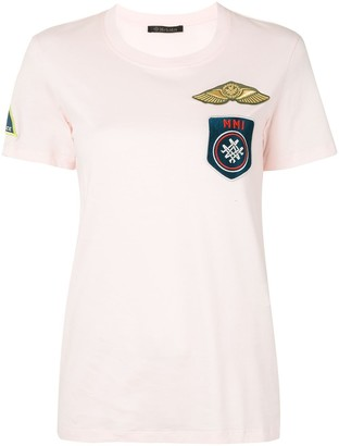 Mr & Mrs Italy patch-detail T-shirt