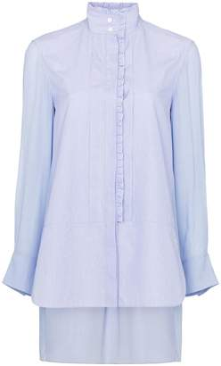 Chloé ruffle trim cotton shirt