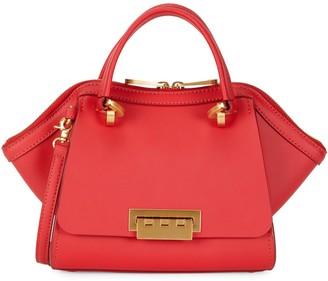 Zac Posen Small Eartha Leather Double Handle Bag