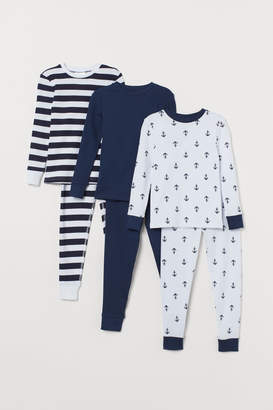 H&M 3-pack Pajamas - White
