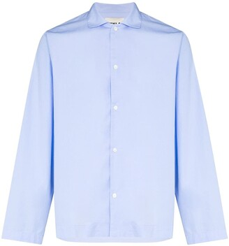 Tekla Organic Cotton Pyjamas Shirt