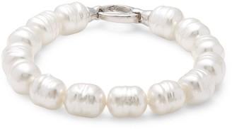 Majorica Sterling Silver & Pearl Divine Bracelet
