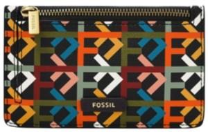 Fossil Women's Logan Zip Card Case