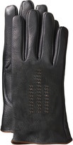 Johnston & Murphy Contrast-Stitch Smart Gloves