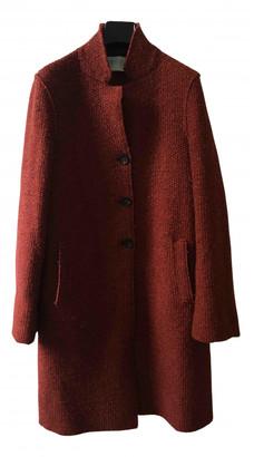 Harris Wharf London Red Wool Coats